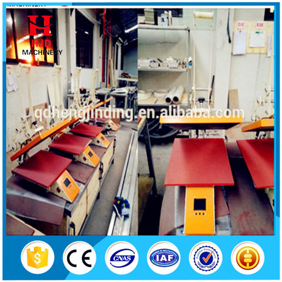 Manual High Pressure Heat Press Machine for Cloth Printing pictures & photos