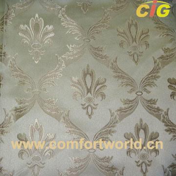 Upholstery Jacquard Curtain Fabric