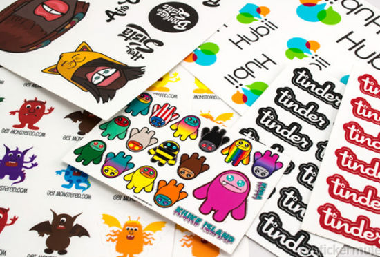 Outdoor Custom Die-Cut PVC Label Sticker pictures & photos