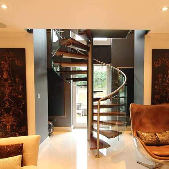 China Manufacturer Small Space Spiral Staircase To Attic China