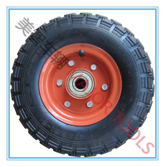 4.00-4 Pneumatic Rubber Wheel for Gasoline Washing Machine pictures & photos