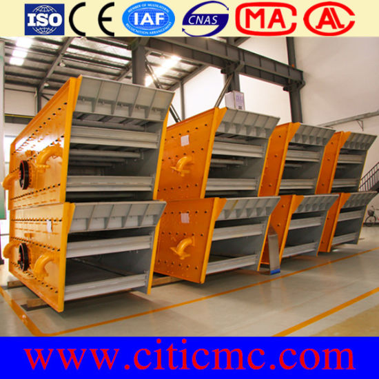 Citicic High-Efficiency Mining Linear Vibrating Screen pictures & photos