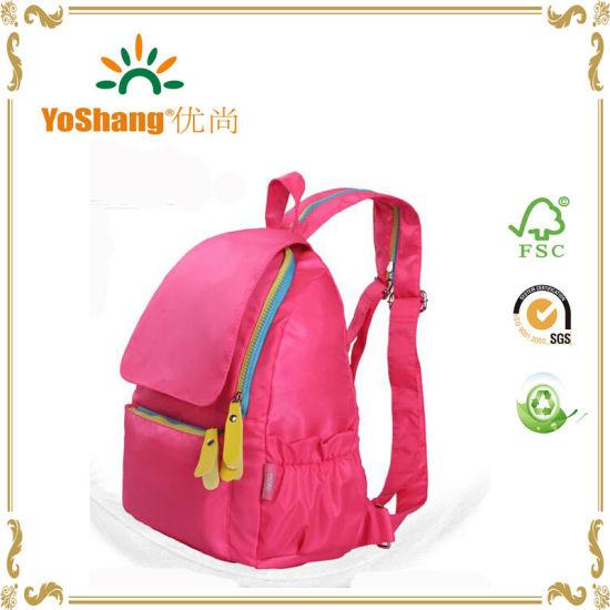 Red Colour Kids School Bag
