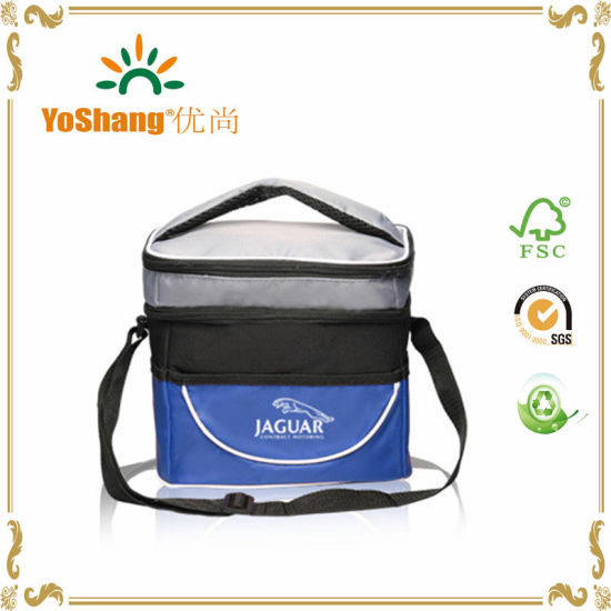 2016 New Fashion Desigher Bags Wholesale Two Compartment Lunch Bag Cooler Bag pictures & photos