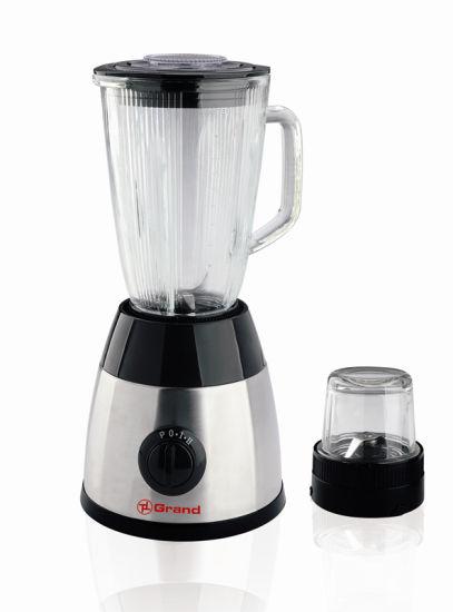 Stainless Steel Body Household Glass Jar 400W Power Blender Kd-626