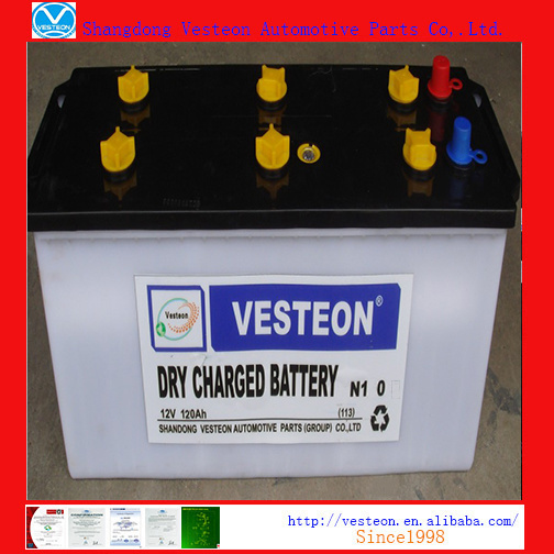 Batteries Lead Acid with Mf Battery Dry Charged Battery JIS60 pictures & photos