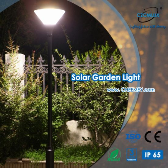Hot Selling Modern Outdoor LED Solar Garden Light with LiFePO4 Battery