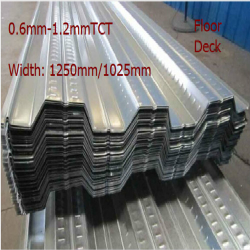 Construction Product Metal Steel Galvanized Flooring Deck for Wholesaler pictures & photos