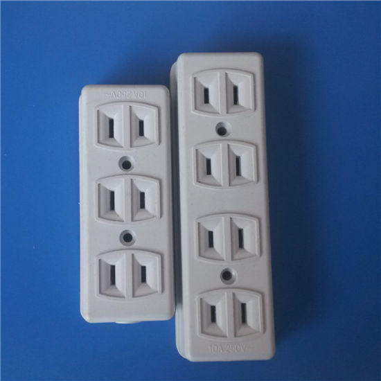 3 Line, 4 Line for Two Flat Pins Socket (Y-112) pictures & photos