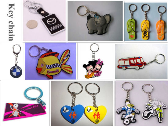 Soft Plastic keychain Molding Making Machine --Soft PVC Products Different Designs, Different Idea