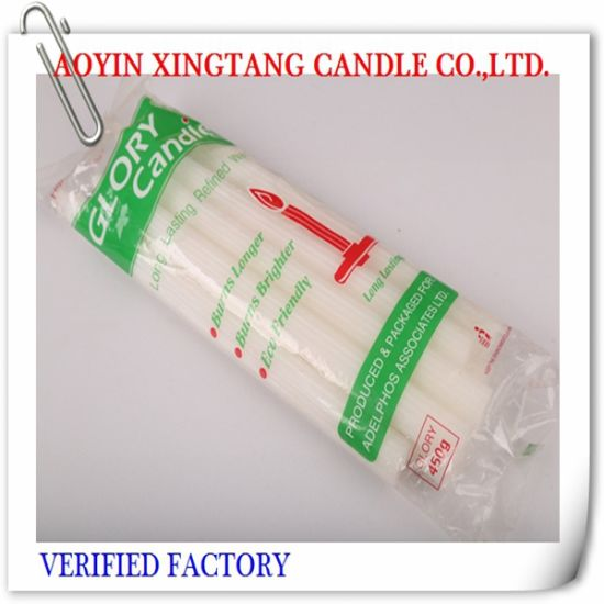 Wholesale 68g Straight Household Fluted Candles pictures & photos