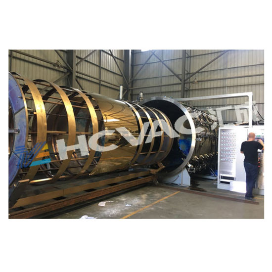 Titanium Gold/Blue/Black/Colorful Stainless Steel Sheet PVD Coating Plant