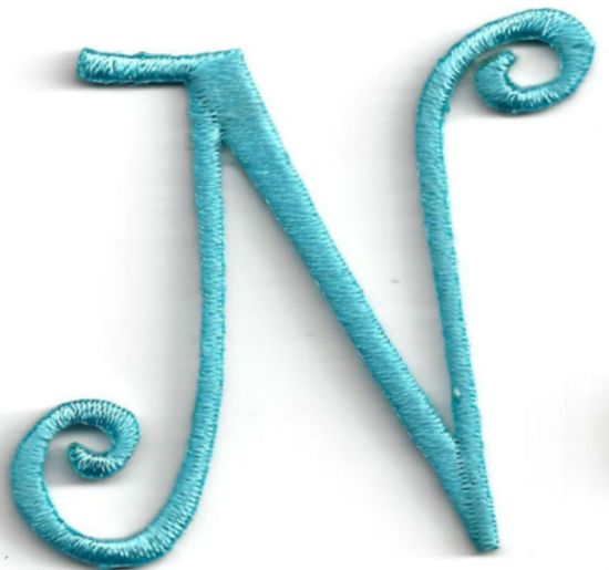 Free Sample 3D Letter Embroidery Patch