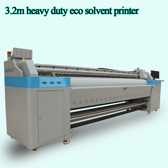 Audley Supplier 3.2m Best Eco Solvent Advertising Printer