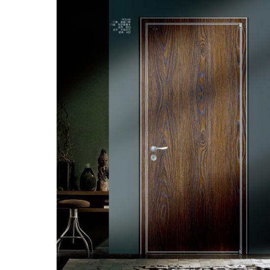 Latest Technology Bathroom Door Design Wooden Doors