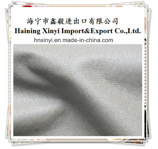 High Light Solid Color PU Artificial Sofa Faux Rexine Leather Upholstery Leather