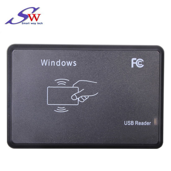 China 125kHz or 13 56MHz USB Interface Smart RFID Card