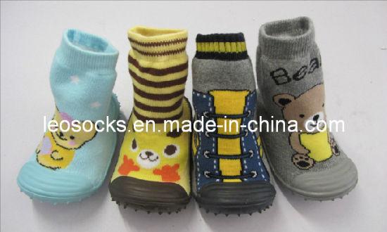 China Hot Selling Toddler Non Skid Baby Socks Shoe China N0n Skid
