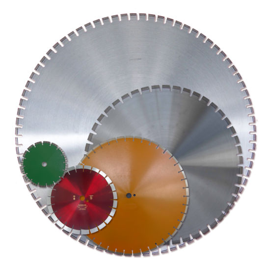 "Planet Diamond 21430020 30/"" Premium Segmented Saw Blade For Cured Concrete"