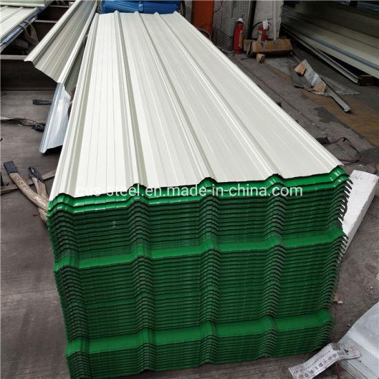 China Hot Sale Best Price Z80 Ral5015 Ppgi Zincalume Galvalume Corrugated Steel Roofing Sheet China Color Metal Roof Sheet Colorful Steel Roof Sheet