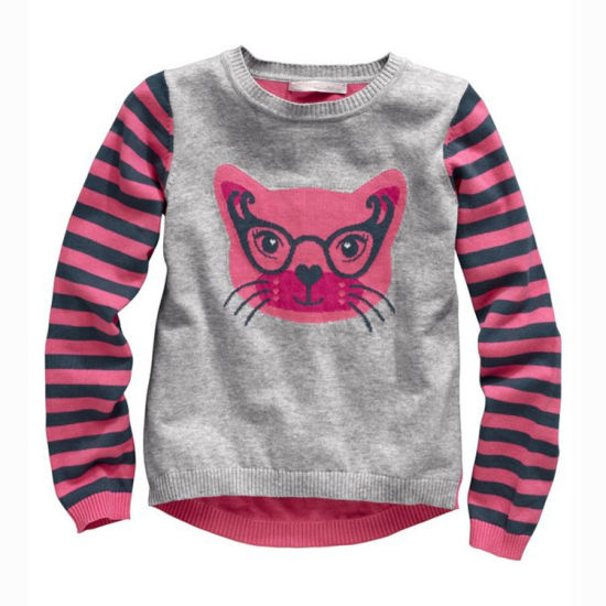 Manufacturer Boys and Girls Design Lovely Knitted Bkids Tops Sweater Baby Clothing