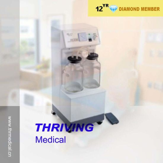 High Quality! Hospital Easy Carry Electric Suction Apparatus (THR-SA-23B) pictures & photos