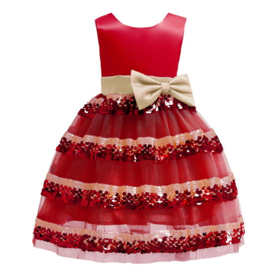 Party Dress for Christmas Kids Dress pictures & photos