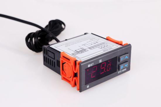 Double Sensor Refrigeration Parts Temperature Controller Stc-9200