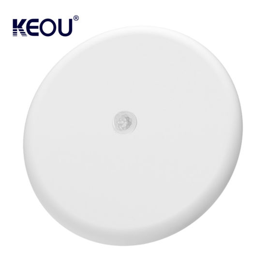 High Lumen SMD2835 Smart Round Frameless LED Panel Light 18W Motion Sensor
