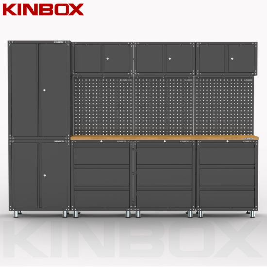 Kinbox 12 Pieces Metal Garage Furniture Locker Tool Cabinet for Home Garage Supplier