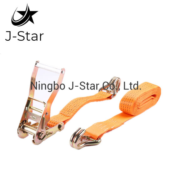 50mm 5ton Aluminium Handle Safety Belt with J Hook