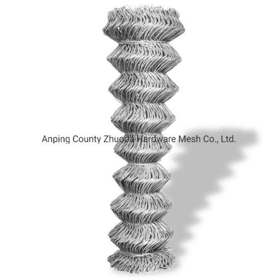 Amazon Ebay Mesh Aperture 50mm Galvanised Steel Chain Link Fence Mesh for UK (CLF)