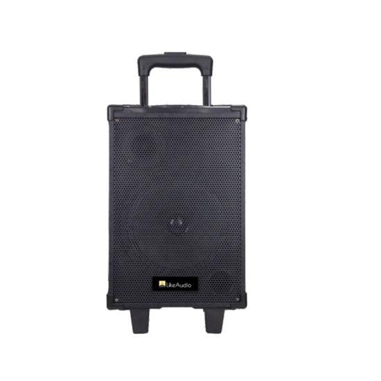 PT-860W 8 Inch 40W Portable Bluetooth Wood Trolley Speaker OEM Guangzhou