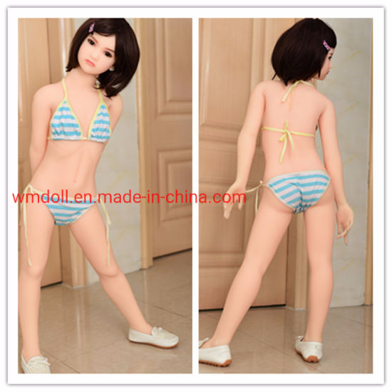 122cm Full Silicone Metal Skeleton a Cup Mini Sex Doll Little Size Japan Anime Love Doll for Men pictures & photos