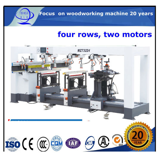 Multi Heads Four/ Six/ Eight Rows/ Randed / Line Wood Drilling / Boring Machine CNC Router Woodworking CNC Machine Construction Equipment & Tools