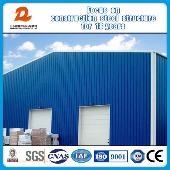 Prefabricated Steel Structure Frame Shed Factory Workshop Warehouse