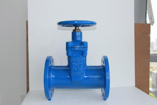 DIN3202 F5 Pn10/16 Resilient Seated Gate Valve