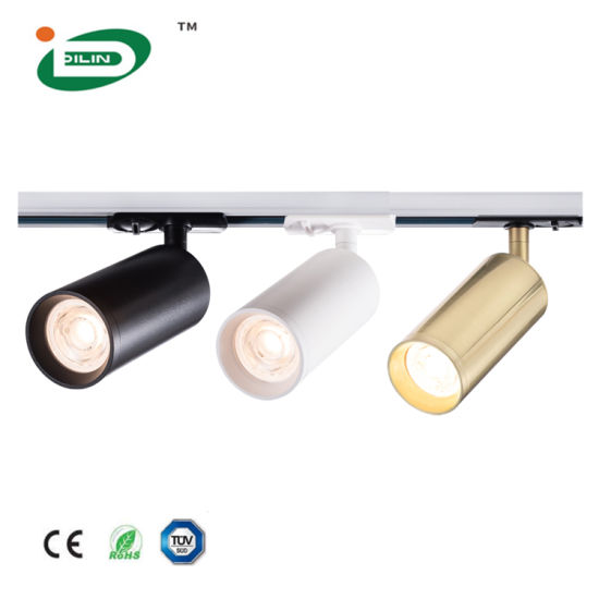 CE RoHS TUV Modern LED Track Light Fixture GU10 Angle Rotatable Bedroom Kitchen Spot Light for Indoor Decoration