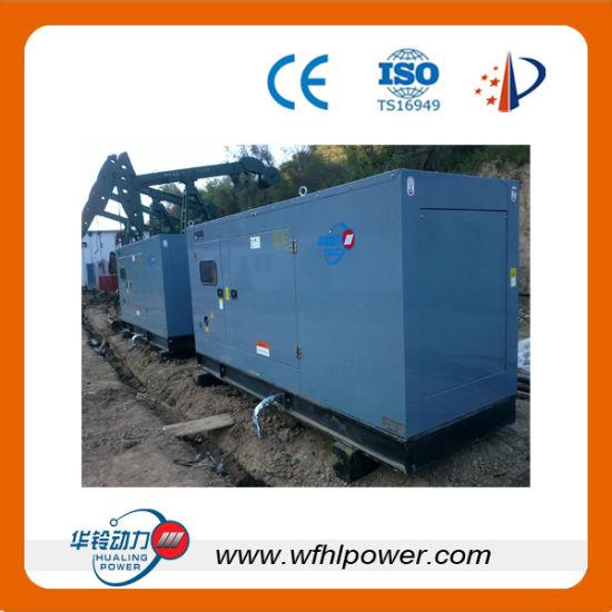 China Natural Gas/ Diesel Generator 250 kVA - China Gas Turbine