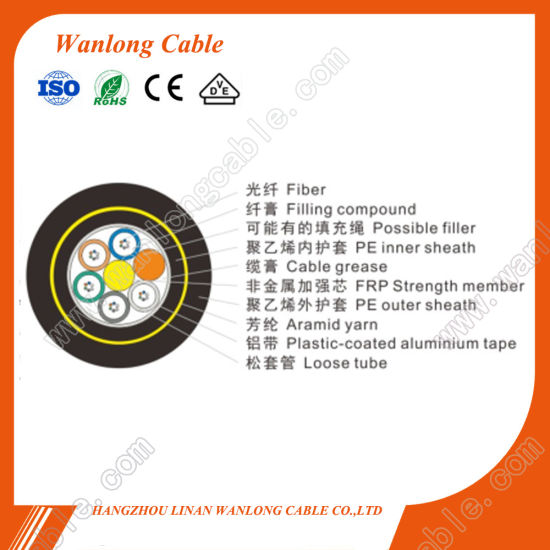 Ducting Waiver Cable Fiber Optic Gptca63 Water-Proof Cable (GPTCA63) pictures & photos