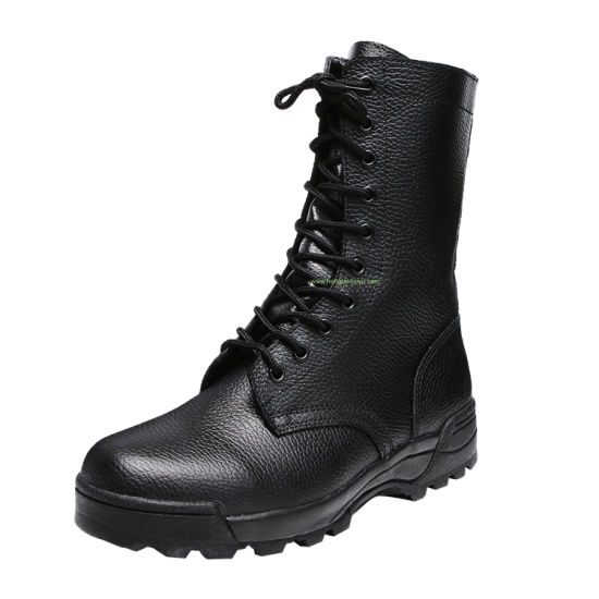Autumn Winter Special Forces High Top Men's Leather Shoes Combat Desert Military Boots