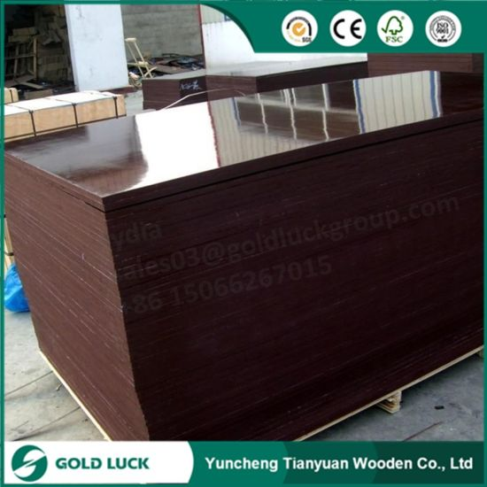 Waterproof Bamboo Phenolic Poplar Marine Plywood Sheets pictures & photos