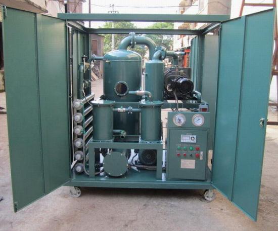 Double Stage Vacuum Waste Transformer Oil Dehydration Machine