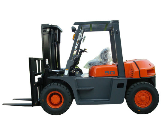 5ton with Isuzu Engine 6bg1 Diesel Forklift Truck pictures & photos