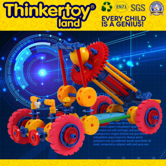 2015 Latest Plastic Children Building Block Education Toys