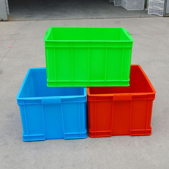 X210 High Quality Transporting Plastic Containers With Attached Lid