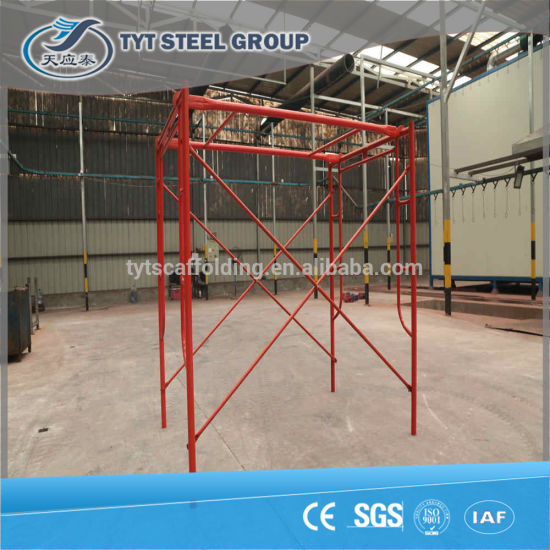 Tyt Scaffolding Wholesale Construction Scaffolding Frame System with Manufacturing Price pictures & photos