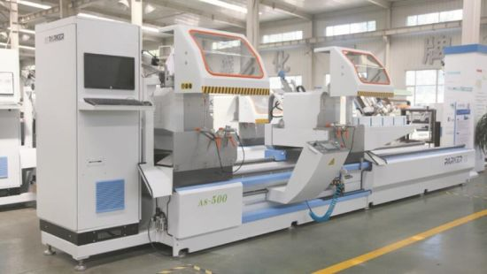 CNC Three Axis Any Angle Cutting Saw for Aluminum Window Machine pictures & photos