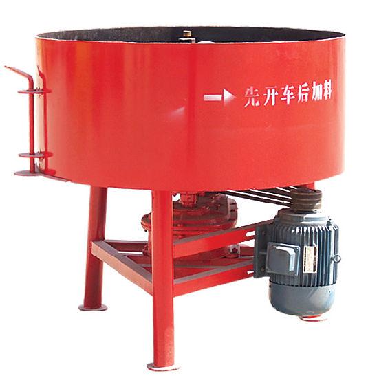 Shengya Brand JQ350 Concrete Pan Mixer for Block Machine in Algeria,  Ethiopia, Nigeria, Tanzania, Kenya, Cameroon, Indonesia