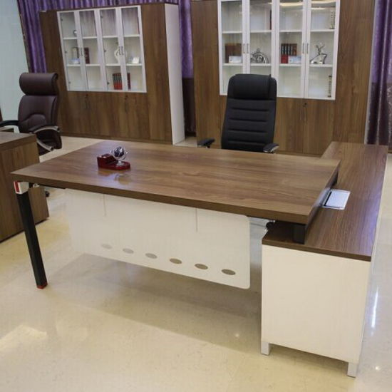 Modern Laminate Executive Office Desk